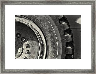 Big Wheel Framed Print by Patrick M Lynch