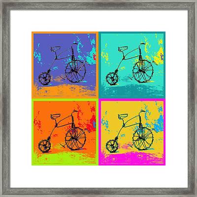 Bike 1b Framed Print by Mauro Celotti