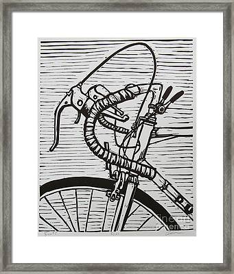 Bike 2 Framed Print by William Cauthern