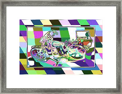 Bike-2b Framed Print by Mauro Celotti