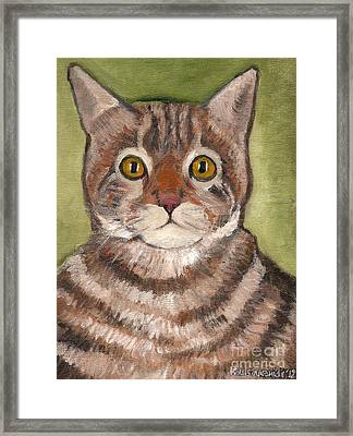 Bill The Cat  Framed Print by Kostas Koutsoukanidis