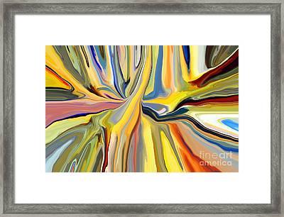 Binding Framed Print by Chris Butler