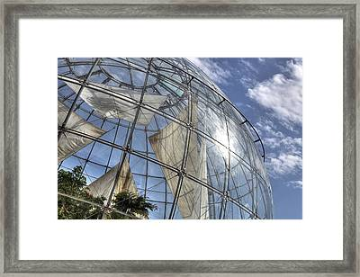 biosfera in Genoa Framed Print by Joana Kruse