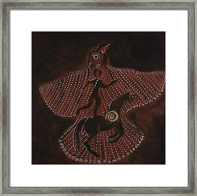 Bird Dream Framed Print by Sophy White