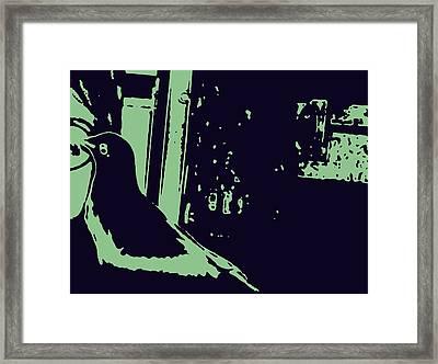 Bird Love Framed Print by YoMamaBird Rhonda