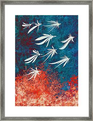 Birdeeze -v04 Framed Print by Variance Collections