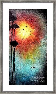 Birds Of The Sun Framed Print by Mike Grubb