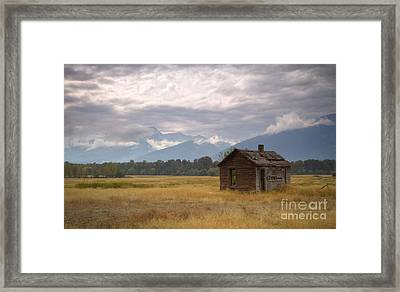 Bitterroot Homestead Framed Print by Idaho Scenic Images Linda Lantzy