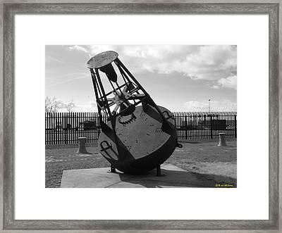 Black Bouy Framed Print by Joseph Rennie
