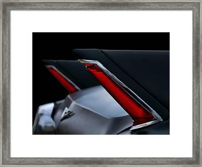 Black Fin Tuna Framed Print by Douglas Pittman