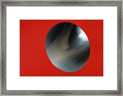 Black Hole Framed Print by Paul Wear
