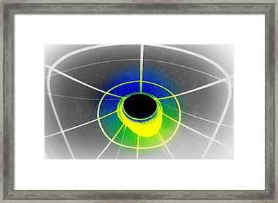 Black Hole With Aura Framed Print by Randall Weidner