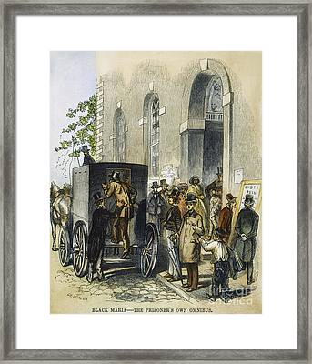 Black Maria, C1850s Framed Print by Granger