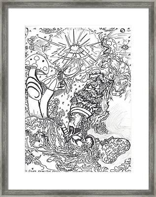 Black N White Framed Print by Justin Chase