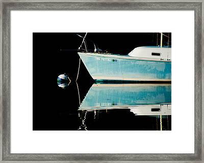 Black Water Framed Print by Sam Smyth
