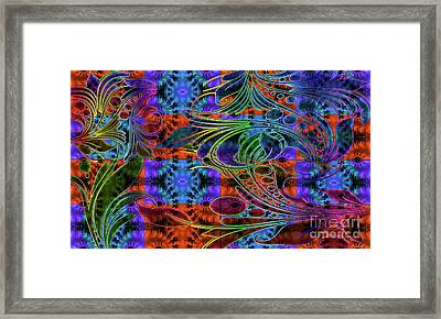 Bleeding Rainbow Framed Print by Clayton Bruster