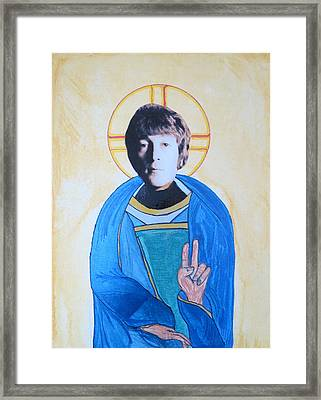 Blessed John Framed Print by Philip Atkinson