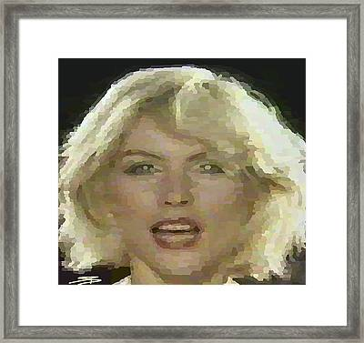 Blondie Framed Print by Siobhan Bevans