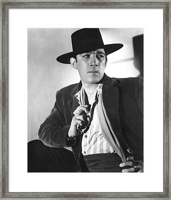 Blood And Sand, Anthony Quinn, 1941 Framed Print by Everett