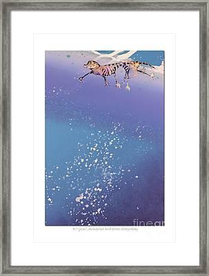 Blue Bayou Framed Print by Diana  Tyson