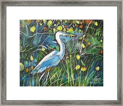 Blue Bayou Framed Print by Judy Kay