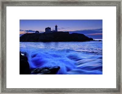 Blue Dawn Framed Print by Rick Berk