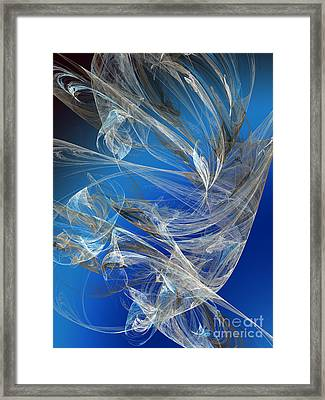 Blue Legacy Framed Print by Andee Design