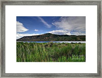 Blue Mesa Reservoir Framed Print by Michael Kirsh