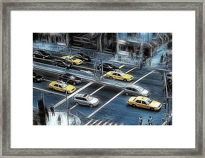 Blue Monday Framed Print by Joachim G Pinkawa