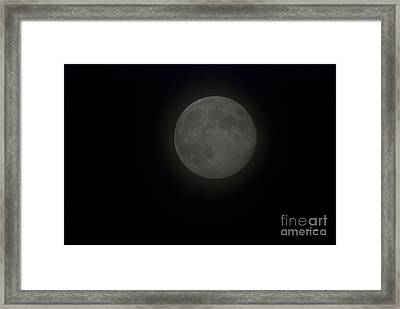 Blue Moon Framed Print by Thomas Woolworth