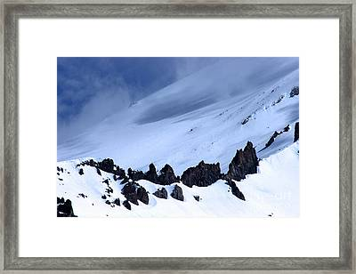 Blue Mountain Winds Framed Print by Tap  On Photo