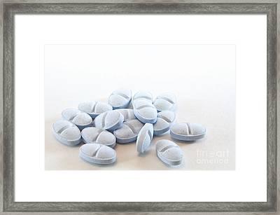 Blue Pills Framed Print by Blink Images