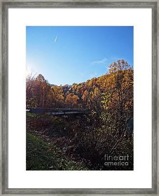 Blue Ridge 14 Framed Print by Steven Lebron Langston