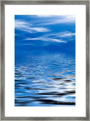 Blue Sky Framed Print by Kati Molin