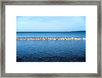 Blue Framed Print by Svetlana Sewell