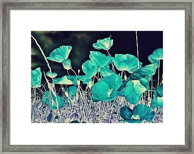Blue Vision Framed Print by Marianna Mills
