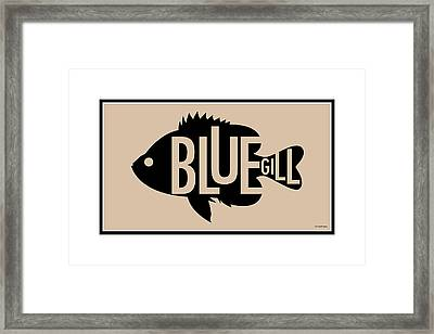 Bluegill Framed Print by Geoff Strehlow
