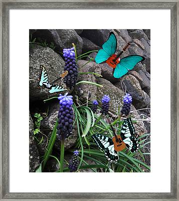 Blues Framed Print by Eric Kempson