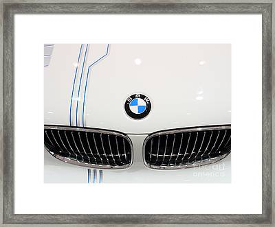 Bmw . 7d9572 Framed Print by Wingsdomain Art and Photography