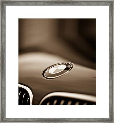 Bmw Marque Framed Print by Mike Reid