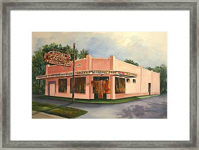 Boarded Memories Revisited Framed Print by Roxanne Tobaison