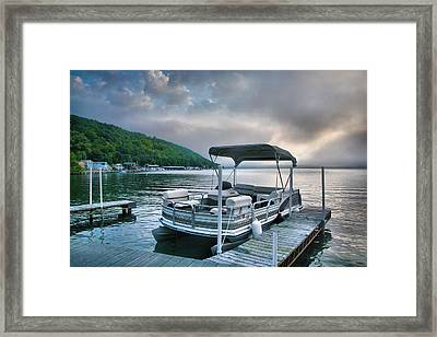 Boat At Rest Framed Print by Steven Ainsworth