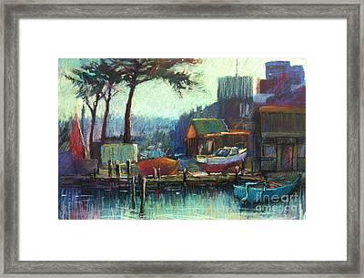 Boatman's Retreat Framed Print by Pamela Pretty