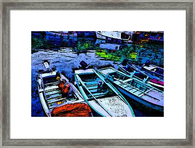 Boats 2 Framed Print by Mauro Celotti