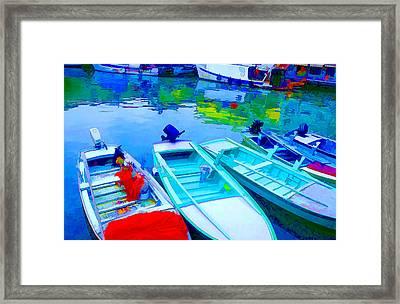 Boats Framed Print by Mauro Celotti