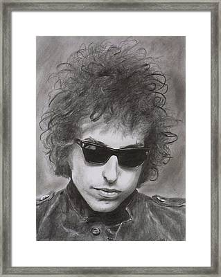 Bob Dylan Framed Print by Mike OConnell