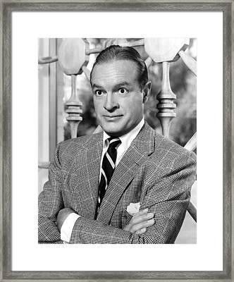 Bob Hopenbc Radio Show Publicity Shot Framed Print by Everett