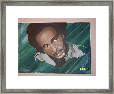 Bob Marley 2011 Framed Print by Elaine Holloway