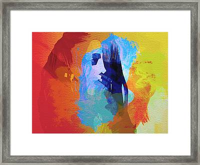 Bob Marley 4 Framed Print by Naxart Studio