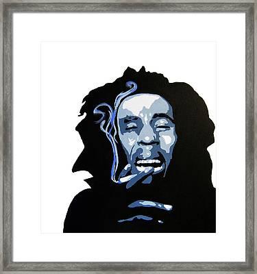 Bob Marley Framed Print by Michael Ringwalt